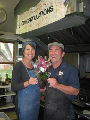 Bill and Paula Kinoshita own the Old Hotel in Twin Bridges. The restaurant was selected as Best Food Business of the year by Headwaters Resource Conservation and Development, a nonprofit based in Butte. (Paula Kinoshita)