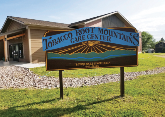 Tobacco Root Mountain Care Center, in Sheridan, has hired five new CNAs since the wage increase.  PHOTO COURTESY OF BONNIE O'NEILL
