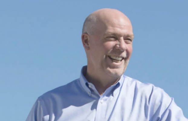 PHOTO PROVIDED FROM GIANFORTE'S CAMPAIGN WEBSITE GREGFORMONTANA.COM.