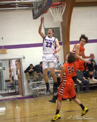 Harrison's Vern Homner was one of two Harrison players selected for the Southwest Montana All-Star basketball game on March 12. His teammate Luke Cima was selected as an alternate. (A. Christensen)