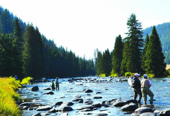 Bozeman-based nonprofit Casting for Recovery provides fly fishing retreats to women who have been diagnosed with breast cancer, free of charge. In 2019, CFR will host three retreats in Montana and nearly 70 nationwide. The Montana retreats will take place in Ennis, Big Sky and the Lubrecht National Forest north of Missoula. (Courtesy of Lise Loselle)