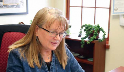 If you've been in the Madison County Clerk and Recorders office, you've likely met Paula McKenzie. She's worked as chief deputy clerk for years, and just recently rose in ranks to leader of the office. PHOTO BY JOLENE PALMER