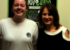 Twin Bridges student Mhanon Sullivan and high school business teacher Jody Sandru. (Submitted)