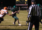 Brand Ostler runs the ball in to the endzone for a two-point conversion and the last points of the night.