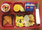"""""""The gals definitely deserve it,"""" Principal Brown said of Griebenow and her assistant Mia Babcock. Pictured here is the first-place winning breakfast from Twin Bridges Schools. PHOTO COURTESY OF CINDY BROWN"""