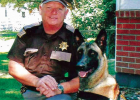 Deputy Dan Birdsill and his fearless companion K9 Shay. FACEBOOK PHOTO