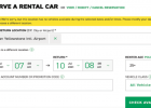 An Enterprise rental car search came up empty for multiple weeks through the summer, with a BZN pickup location set. PHOTO COURTESY ENTERPRISE.COM