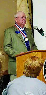 Shaw shared his thoughts on the award and serving youth following the ceremony.