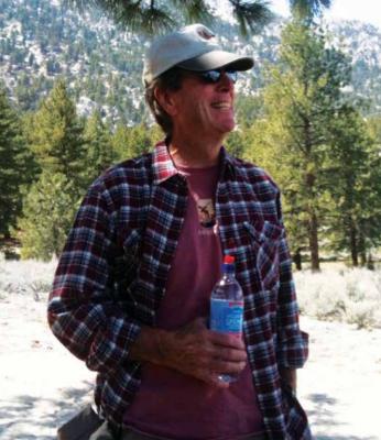 "Pam said Tom takes giant steps while hiking. ""I call him my mountain goat,"" she said. PHOTO COURTESY OF PAM URELL"