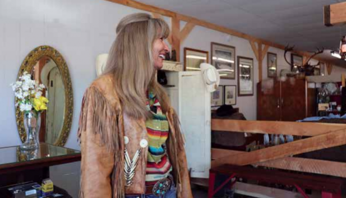 Antiques and restoration have been passions for Roxy Hudak since she was 16. It's a hobby and passion she's excited to share with others. PHOTO BY JOLENE PALMER