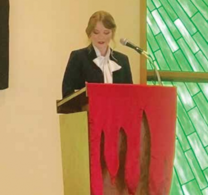 While she is approved as a pastor, we cannot officially refer to Reynolds as Rev. Reynolds until she is ordained by the Presbytery. This ceremony will happen in August. And then, it will be cool to say Rev. Reynolds. It just rolls off the tongue. PHOTO COURTESY OF MARY GRACE REYNOLDS