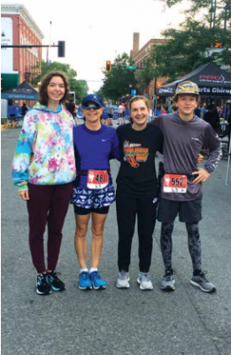 Ennis' cross-country racers wasted no time this summer. Many of the long-distance runners stayed in shape with weekly team runs as well as competing in regional races like the Sweet Pea 5K.PHOTO COURTESY MELINDA LEGG