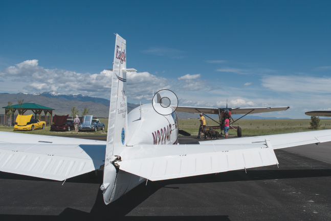 The Twin Bridges Airport hosted its biennial Fly-In Car Show June 15.
