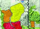 The Gallatin National Forest Avalanche Center monitors the avalanche risk across its advisory area in the Gallatin and Madison ranges. Yellow is moderate danger, orange is significant and red is extreme danger. (GNFAC)