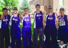 Harrison track athletes