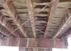 The general underside of the Giem Bridge. Photo courtesy Madison County Commissioners.