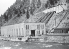 The Madison Powerhouse nearly 100 years ago.  Photo provided by NorthWestern Energy