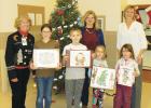 Winners (L-R): Elsie Chandler age 11, Reid Henning age 10, Kyndall Marsh age 5, Aubrey Pearce age 4. PHOTO COURTESY TERESA FUNKE