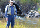 Kehler identifies as an outdoorsman. In one essay he wrote in Hollowtop Smoke Signals, he described trout in the river that used to run for cover at the sound of his name. Now, he says, they ignore him. PHOTO COURTESY OF ART KEHLER