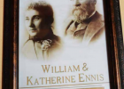 William and Katherine Ennis. PHOTO COURTESY MADISON VALLEY HISTORY ASSOCIATION