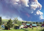 The Robertson Draw Fire on June 15. INCIWEB PHOTO
